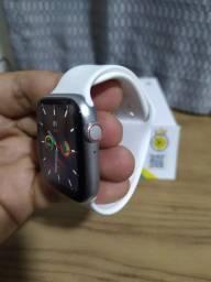 Smartwatch iwo w26 relogio inteligente tela infinita