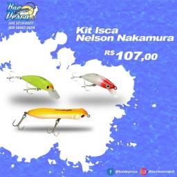 Kit De Iscas Artificiais Nelson Nakamura