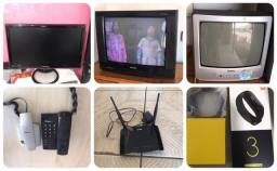 Tvs /moldem internet/relógio/telefone