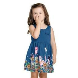 Lindos Vestidos Elian Infantil - A partir de R$ 30,00