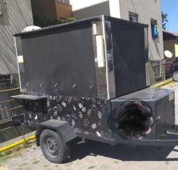 Vendo carretinha food truck completa