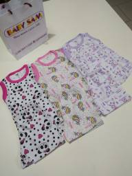 Pijamas infantil de 1 a 3 anos