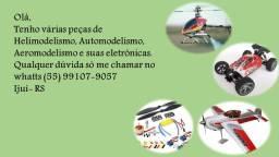 Peças e kits de Heli, Auto e Aeromodelos: Avião, carro, helicóptero