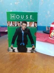 Box 4° temporada House - usado