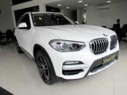 BMW X3 2019 2.0 16V GASOLINA X LINE XDRIVE 20I STEPTRONIC BRANCA TOP DE LINHA + TETO SOLA