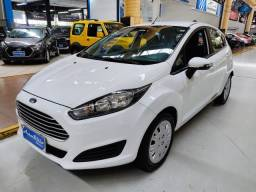 Ford Fiesta SE 1.6 Flex Branco 2017 (Automático + Completo)