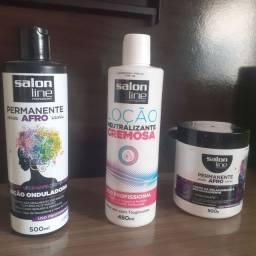Permanente Afro Salon Line profissional