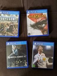 PS4 Jogos Mídia Física