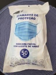 Título do anúncio: Mascara descartavel tripla protecao caixa com 50 unidades