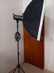 Título do anúncio: Vendo estúdio fotográfico usado apenas 2 vezes