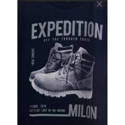 Milon-Camiseta De Manga Longa Azul Tamanho 4 Anos