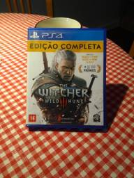 Título do anúncio: PS4 the witcher 3