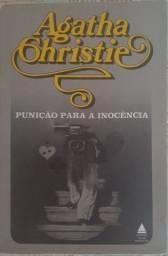 Livro Punição para a inocência- Agatha Christie