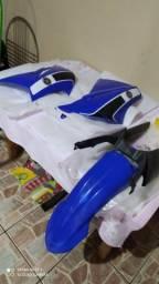 Roupa da XT 660 Azul Usada Boa