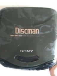 Discman Sony D-143 com defeito conserto ou retirada de peças