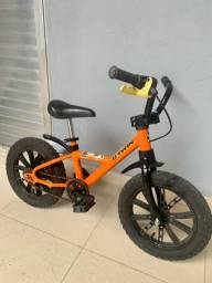 Título do anúncio: Bike infantil aro 14 - Muito nova !