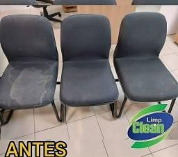 Título do anúncio: Lavagem a seco - cadeiras de escritório!!**