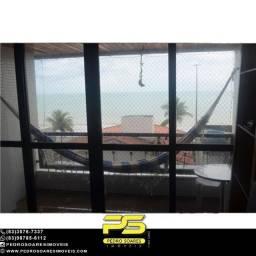 Título do anúncio: Apartamento com 4 dormitórios para alugar, 120 m² por R$ 2.500/mês - Manaíra - João Pessoa