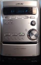 Título do anúncio: System Sony Hcd-hpz9 (com Defeito) - Sem Caixas