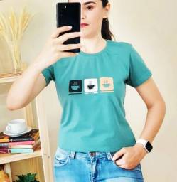 T-Shirt Feminina -Café!