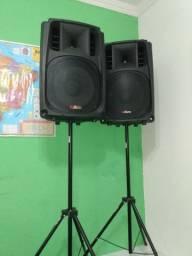 Caixas de som Acústicas