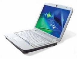 Confira :Lindo notebok Acer Branco Perola ,aceito proposta de preço