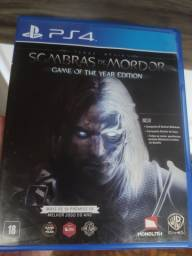 Sombras de Mordor - Game of the Year Edition - PS4
