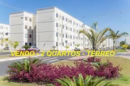 Título do anúncio: Vendo Apartamento 2 Quartos MRV térreo com gardem (quintal)