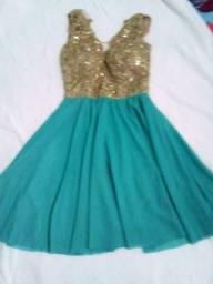 Vestido de festa tm 36