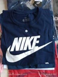 Camisetas básicas de algodão a peço de atacado