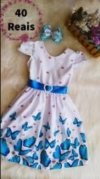 Título do anúncio: Vestido temático infantil