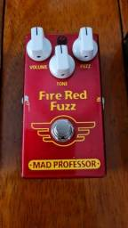Pedal Fire Red Fuzz Mad Professor