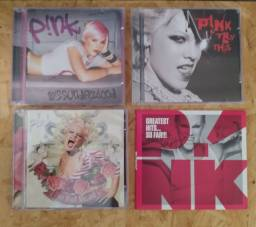 Cd Pink - Missundaztood, Try This, I'm Not Dead & Hits - Cantora P¡nk