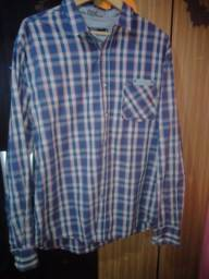 camisa xadrez Tam GG