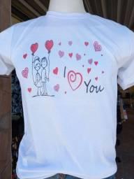 Camisas dia dos namorados