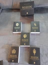 Livros Box Game of Thrones 5 livros