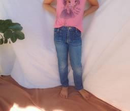 Calça Jeans Infantil - Tam 5 anos