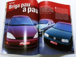 Revista Quatro Rodas - Golf 2.0 x Focus 1.8 x Brava 1.6