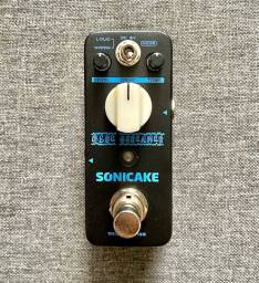 Pedal Sonicake Blue Screamer (clone do TS9 e Dumble)