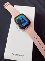 Título do anúncio: Smartwatch Colmi P8 Plus Cor: Rosa (Até 6x Sem Juros)