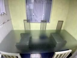 Mesa Luxo Vidro 2,75x1,40