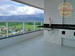 Apartamento com 2 dormitórios à venda, 94 m² por R$ 478.000,00 - Caiçara - Praia Grande/SP