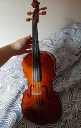 Vendo Viola Clássica de arco 4/4 Envelhecido Eagle