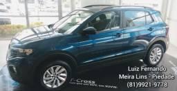 Promoção Volkswagen Novo T-cross 200 TSI Automático 2020 DE R$96,670.00 POR R$87.990,00 - 2020