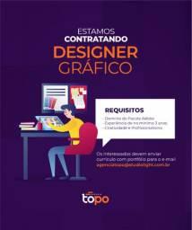 Vaga de emprego para Designer Gráfico