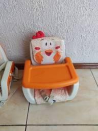 Cadeira alimentação portatil chicco