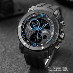 Relógio masculino importado original Sanda