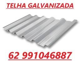 Telha Galvanizada alumínio