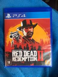 Vendo jogo ps4 red dead redemption 2