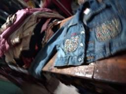 Título do anúncio: Lote de roupa menina TM 08